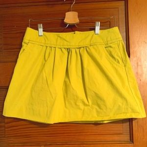 J. Crew Skirts - J Crew Yellow skirt, size 4